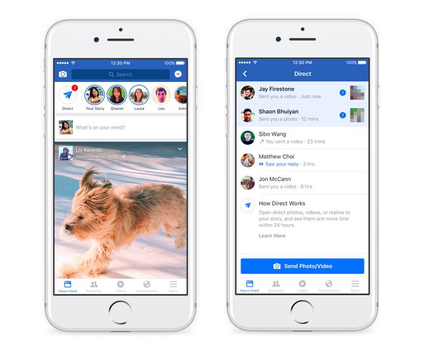 Des images en haute définition dans Facebook Messenger