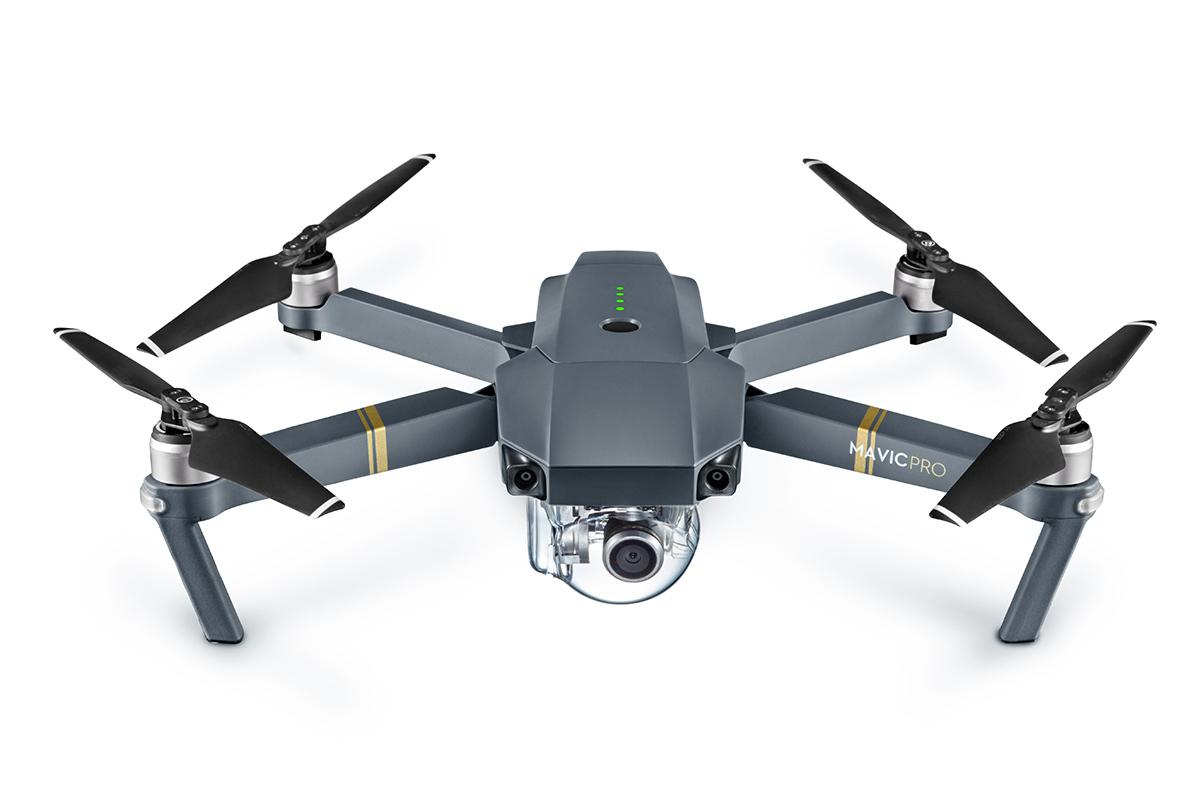DJI Mavic Pro, une caméra 4K dans un drone compact
