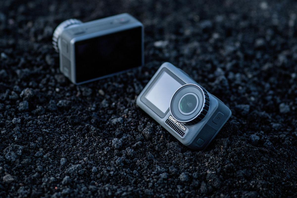 DJI Osmo Action : face à GoPro, DJI dégaine sa première actioncam