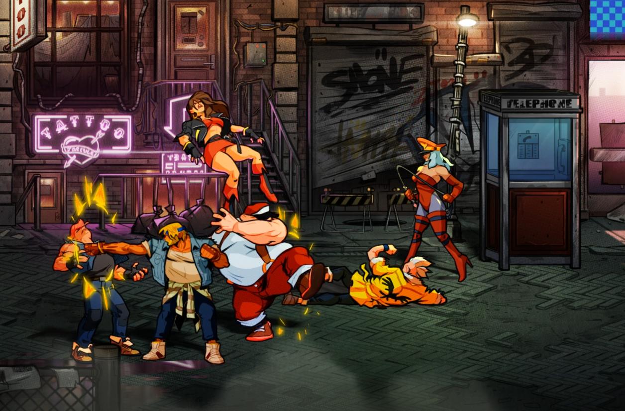 Dotemu annonce Streets of Rage 4 à la surprise générale