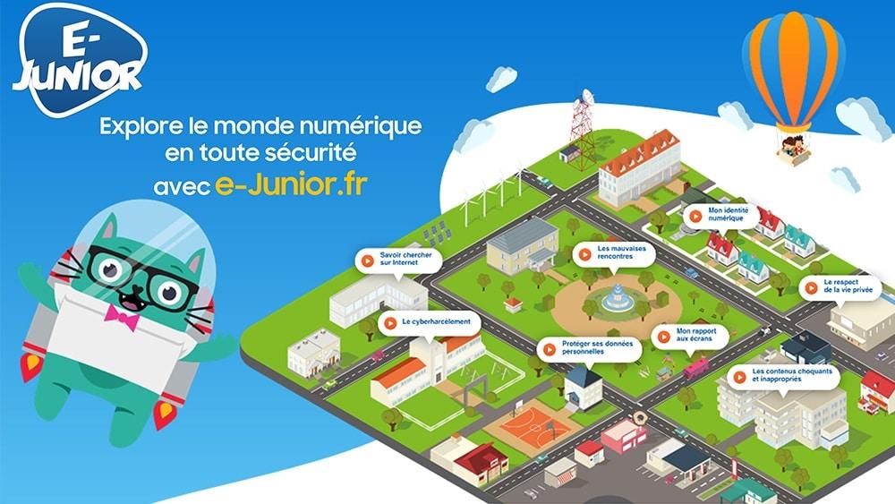 E-Junior : une plateforme pour aider les enfants dans leurs pratiques numériques
