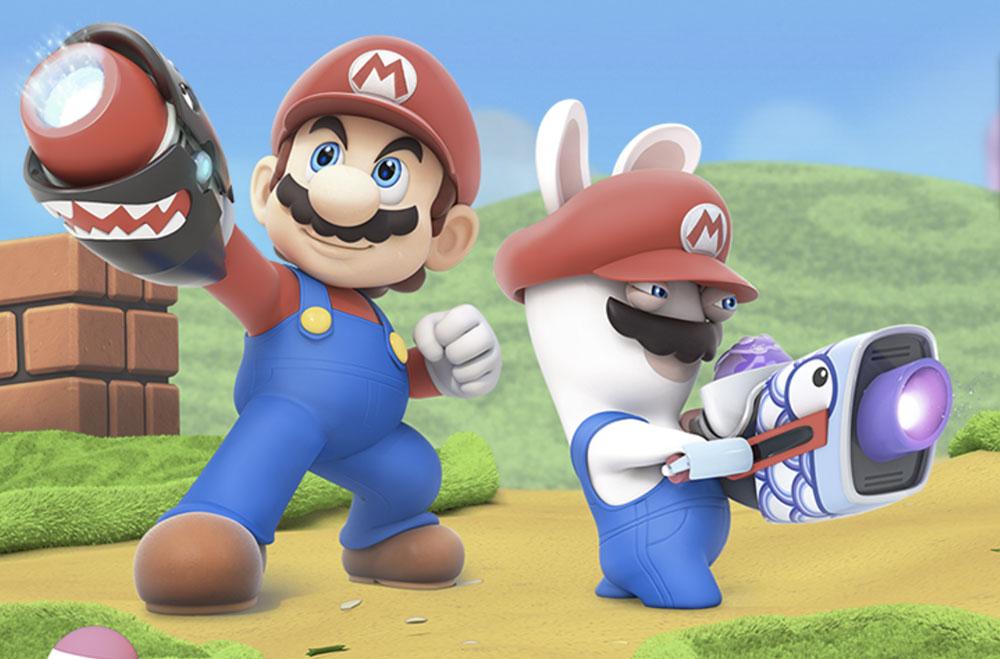 E3 2017 - Mario + The Lapins Crétins Kindom Battle, le cross-over un peu fou réservé à la Switch