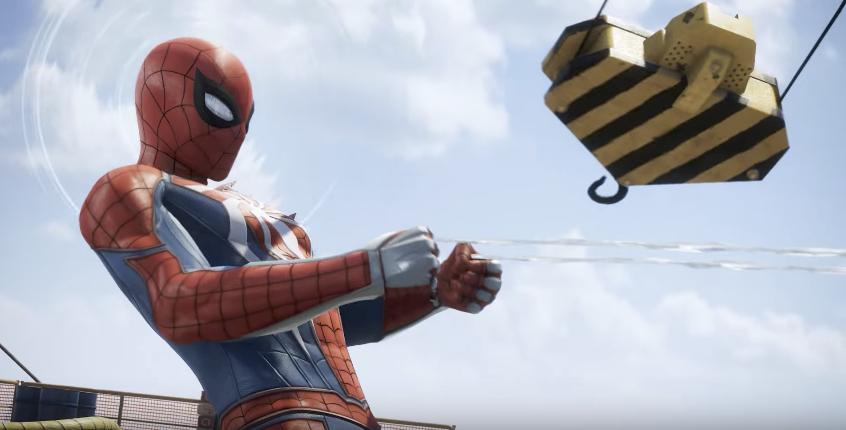 E3 2017 - Spider-Man tisse sa toile sur PS4 (vidéo)