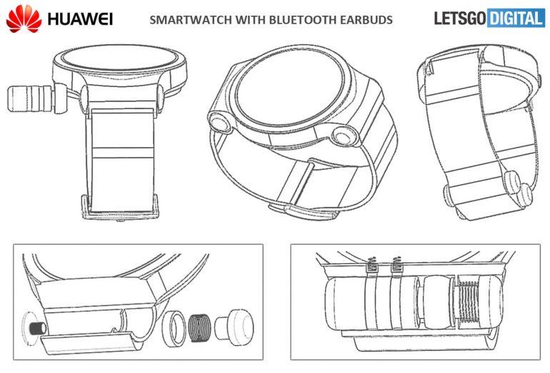 Et si la Huawei Watch 3 intégrait des écouteurs Bluetooth ?
