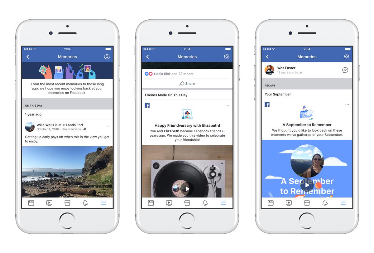 Facebook se rappelle à votre bon souvenir avec Memories