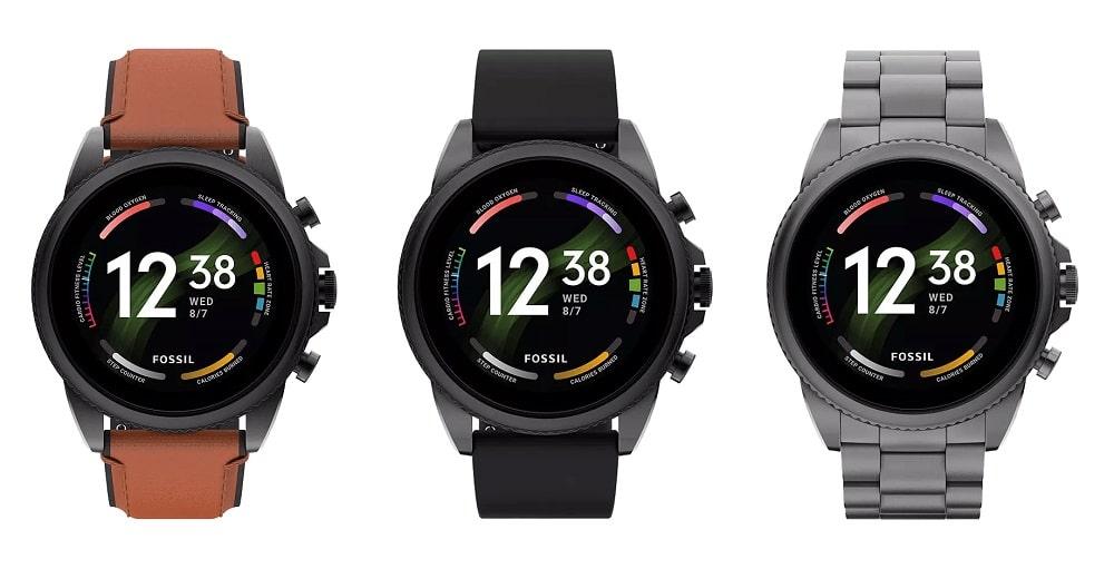 Fossil Gen 6 : la montre sous Wear OS 3 fuite avant son officialisation
