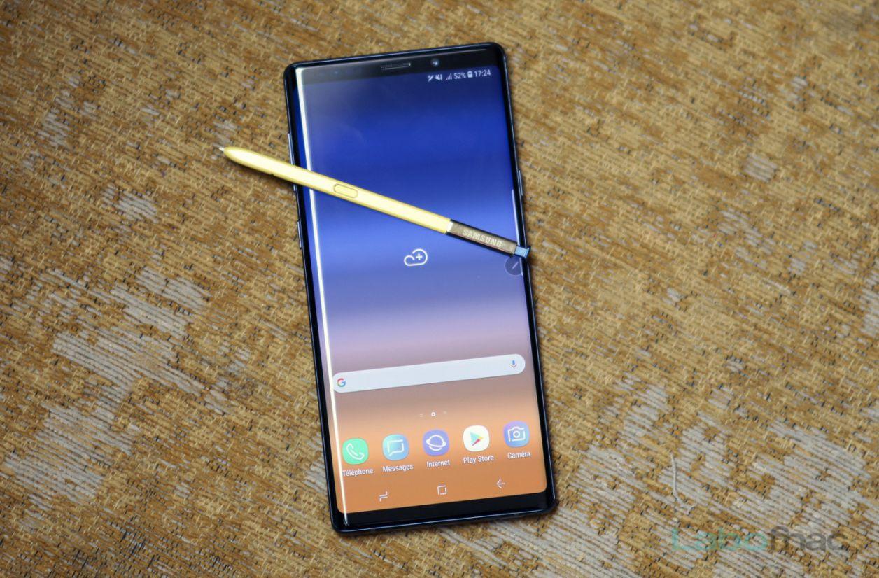 French Days - Le Samsung Galaxy Note 9 (512 Go) à 599 euros
