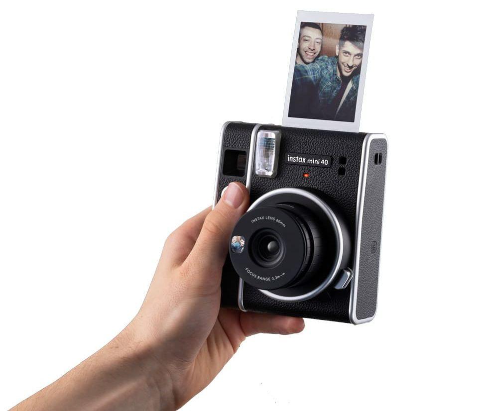 Fujifilm Instax Mini 40 : le nouvel instantané opte pour un look vintage