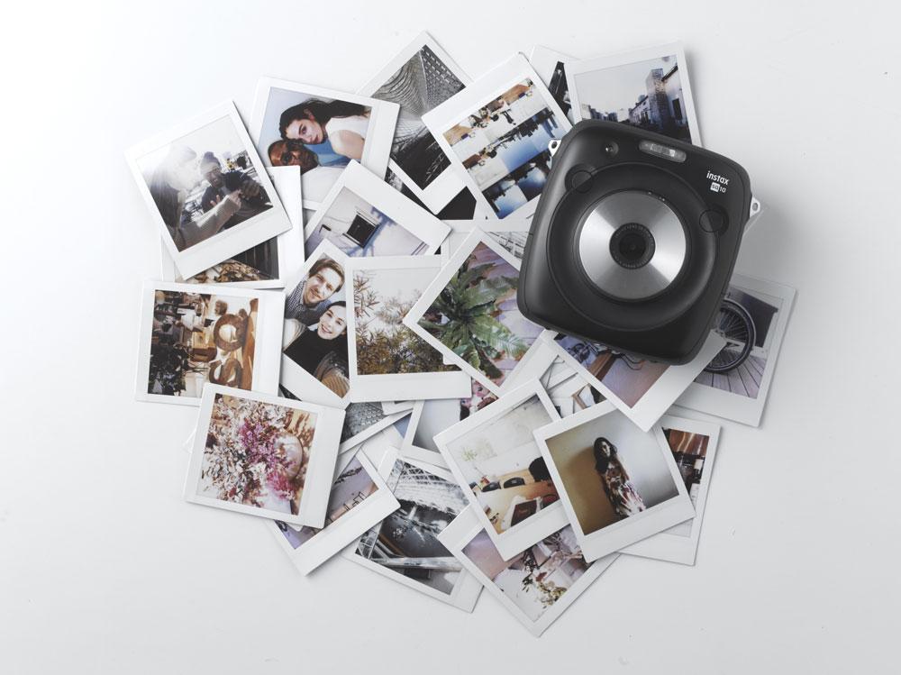 Fujifilm Instax Square SQ10 : le nouvel instantané est aussi un appareil numérique