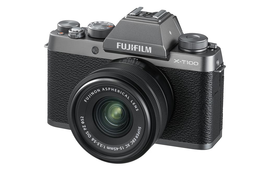 Fujifilm X-T100, un nouvel hybride APS-C à l'héritage classique