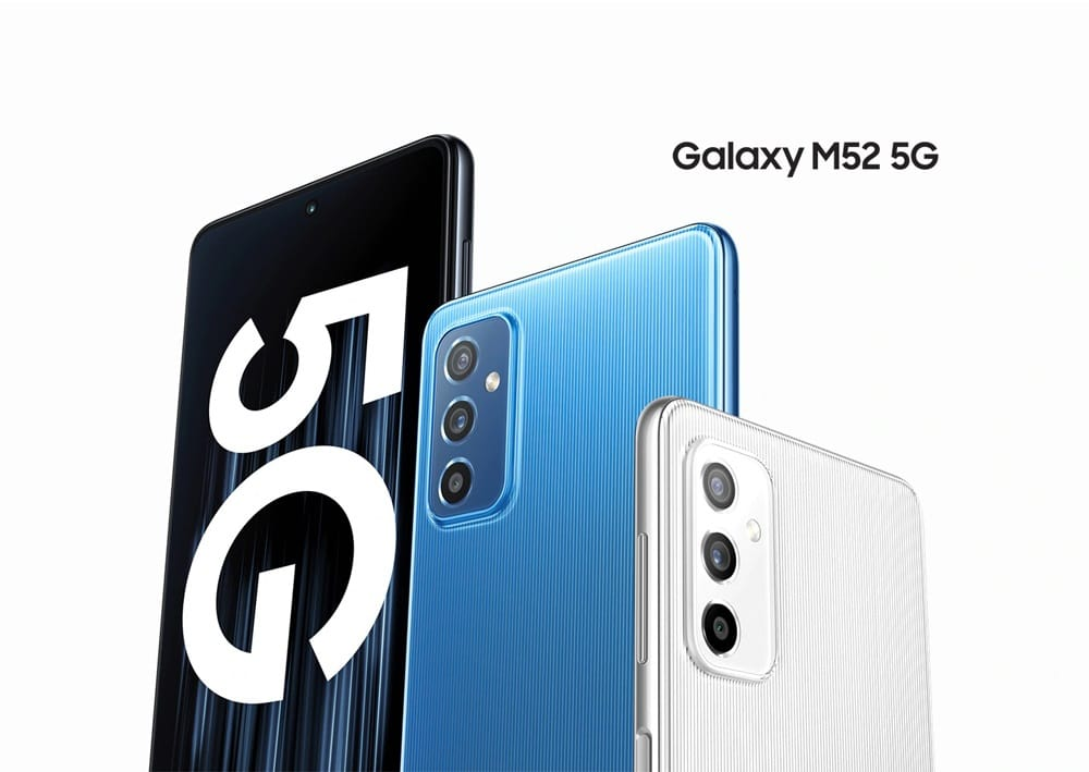 Galaxy M52 : Samsung lance son nouveau smartphone abordable en Europe