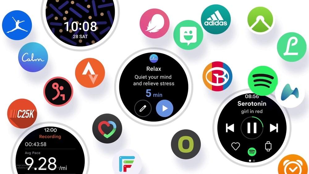 Galaxy Watch 4 : Samsung évoque sa nouvelle interface One UI Watch
