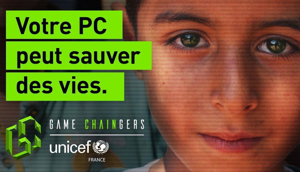 Game Chaingers : l'UNICEF incite les gamers à miner des cryptomonnaies pour les enfants syriens