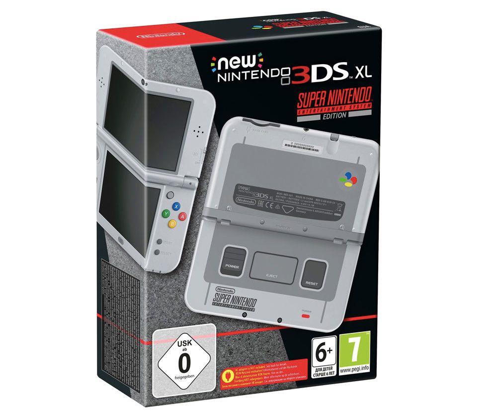 Gamescom 2017 - Une New 3DS XL en édition spéciale Super Nintendo fait cap sur l'Europe
