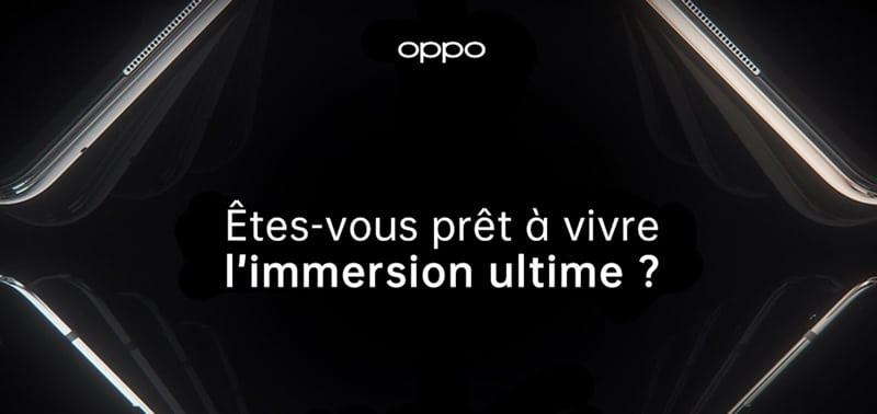 Gamme Find X2 : Oppo tease l'annonce de nouveaux modèles