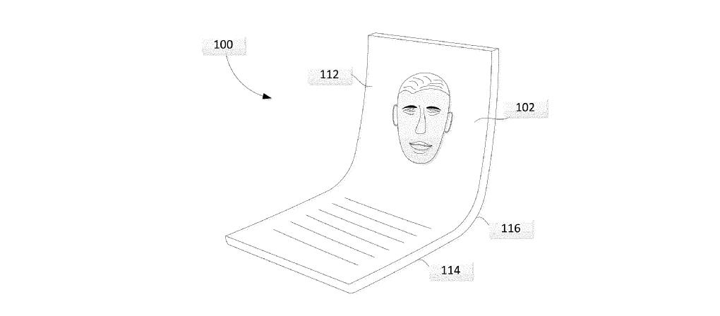 Google a déposé un brevet pour un appareil pliable
