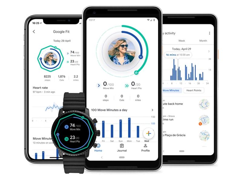 Google Fit fait peau neuve sur Android, Wear OS et iOS