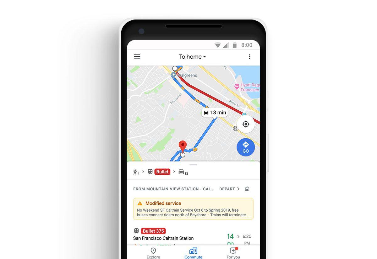 Google Mapsveut vous aider à optimiser vos trajets quotidiens