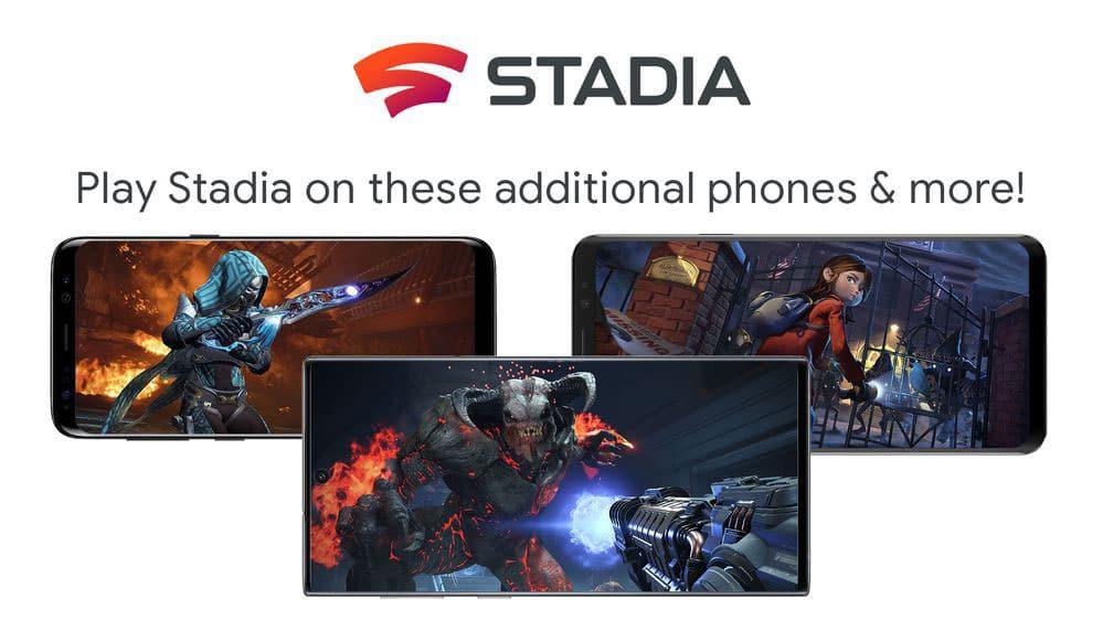 Google Stadia : de nouveaux smartphones Android sont compatibles