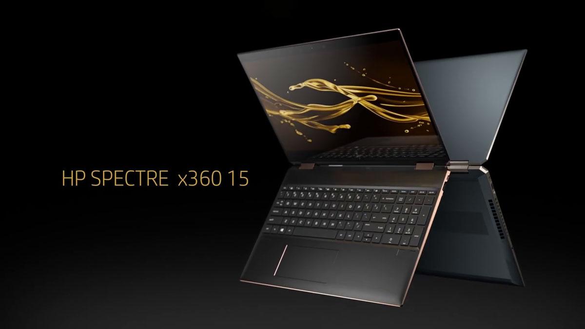 HP dévoile ses nouveaux PC portables hybrides Spectre x360