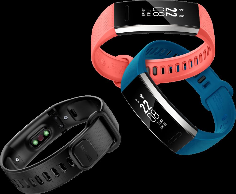 Huawei Band 2 et Band 2 Pro : deux nouveaux bracelets pour les sportifs