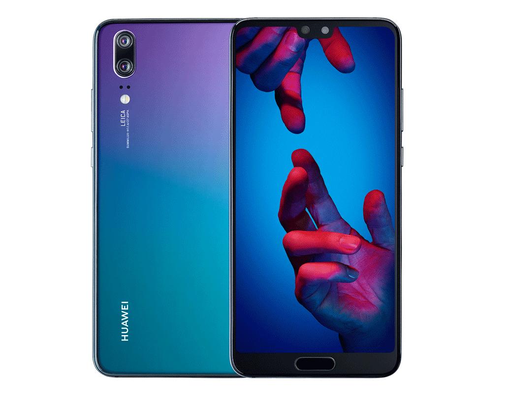 Huawei décide de lancer le P20 en coloris Twilight