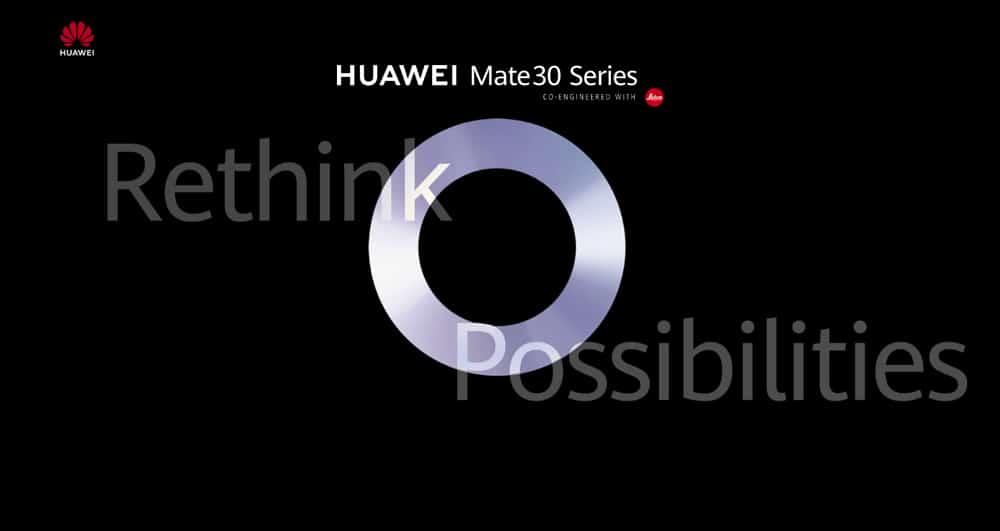 Huawei Mate 30 : la présentation aura lieu le 19 septembre