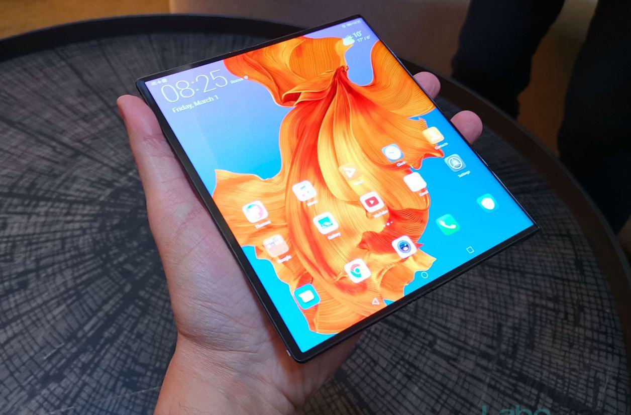 Huawei Mate X : nos photos du smartphone en action