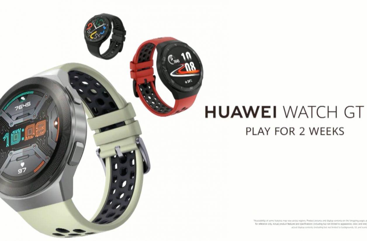 Huawei Watch GT 2e : une déclinaison plus sportive