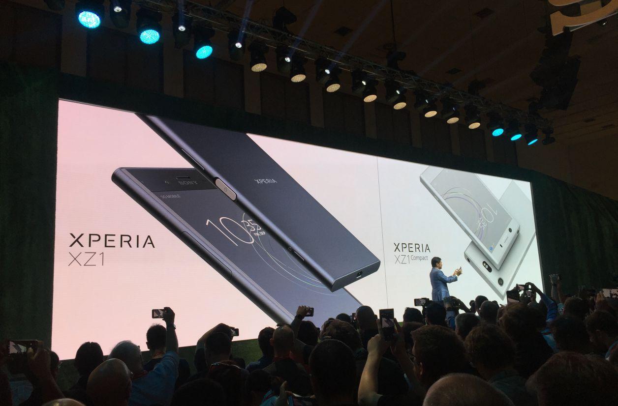 IFA 2017 - Les Sony Xperia XZ1 et XZ1 Compact sont officiels