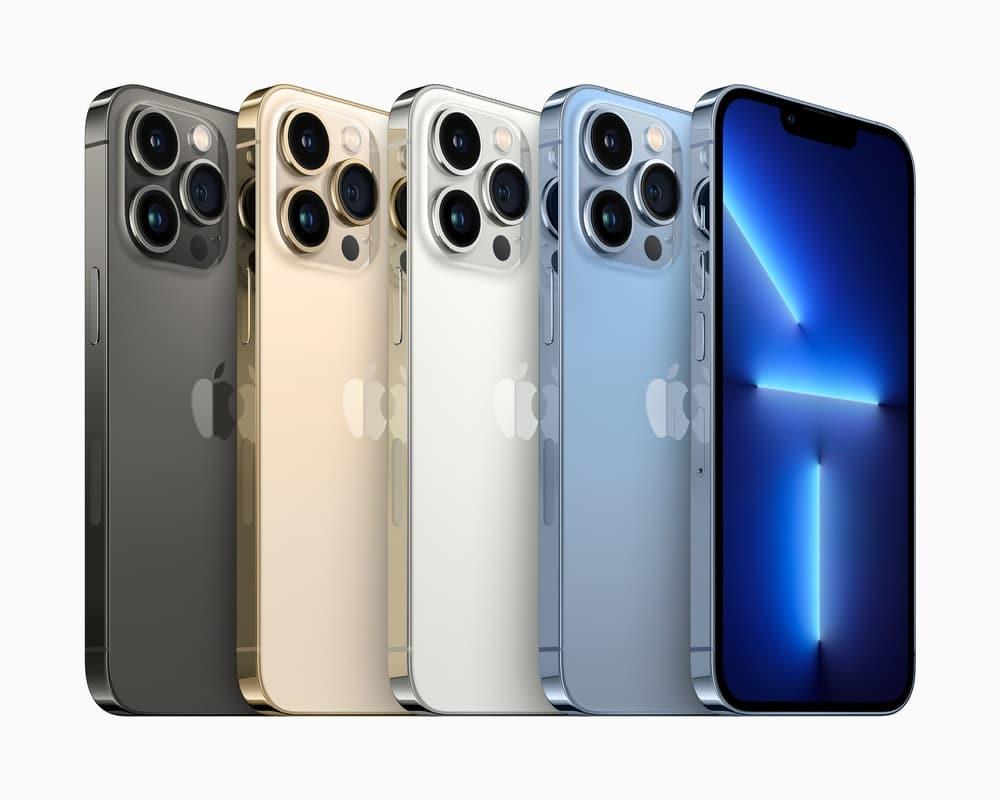 iPhone 13 Pro et 13 Pro Max : un écran 120 Hz et une partie photo/vidéo poussée