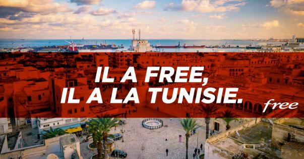 La Tunisie rejoint le roaming inclus au forfait Free Mobile illimité