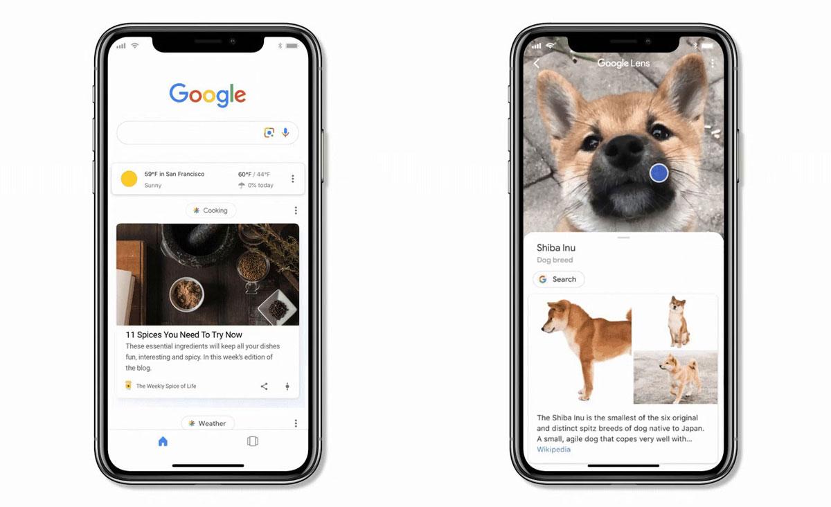 L'application Google sur iOS se dote de la fonction Lens