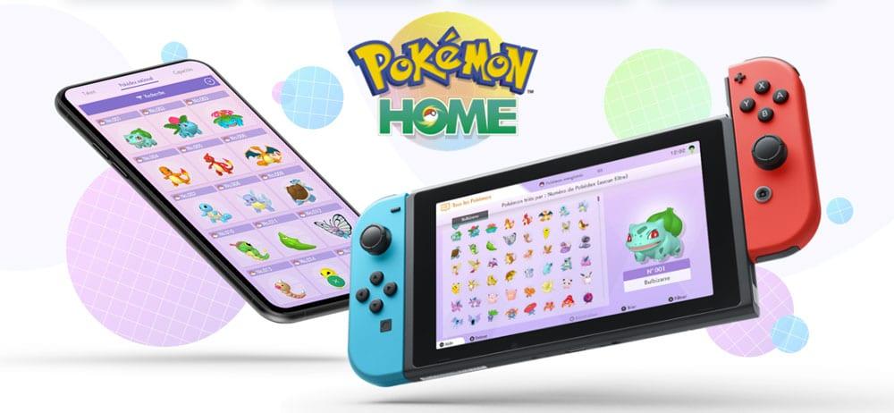 L'application Pokémon HOME est disponible sur Switch, iOS et Android