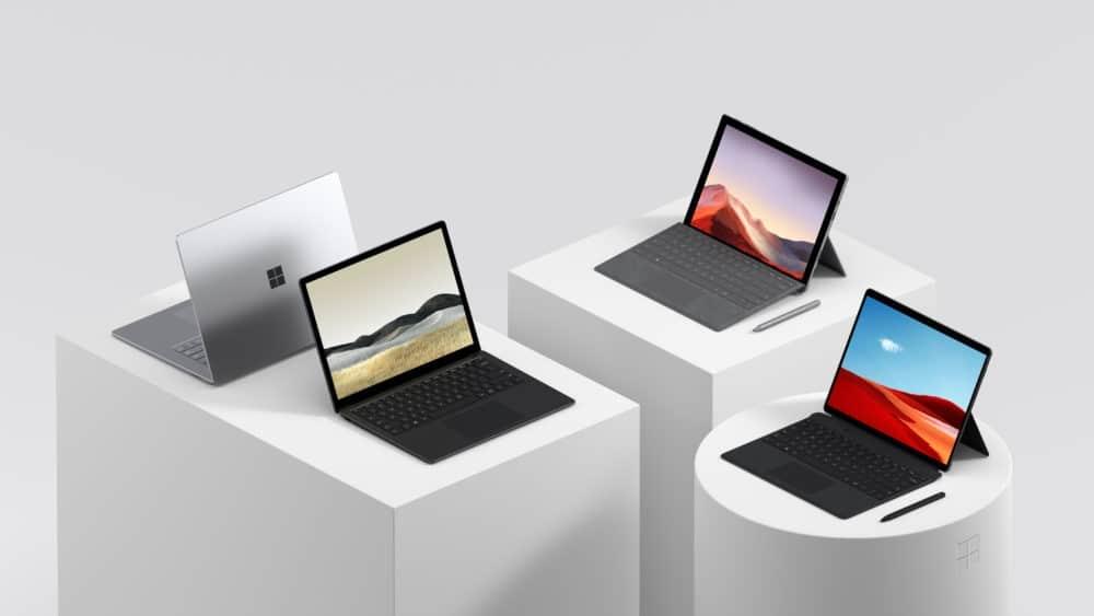 Laptop 3, Pro 7 et Pro X : Microsoft présente sa nouvelle gamme Surface