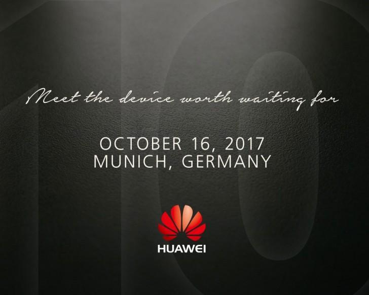 Le Huawei Mate 10 se dévoilera en octobre
