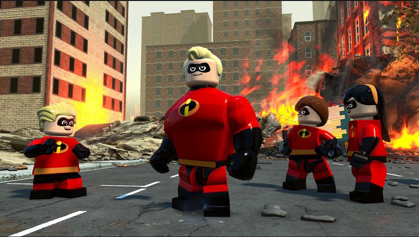 Le jeu vidéo Lego : Les Indestructibles, c'est pour bientôt