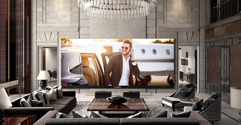 Le plus grand téléviseur 4K du monde fait 262 pouces
