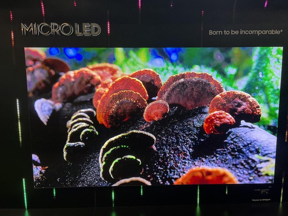 """Le premier téléviseur Micro-LED """"grand public"""" de Samsung arrive en France"""