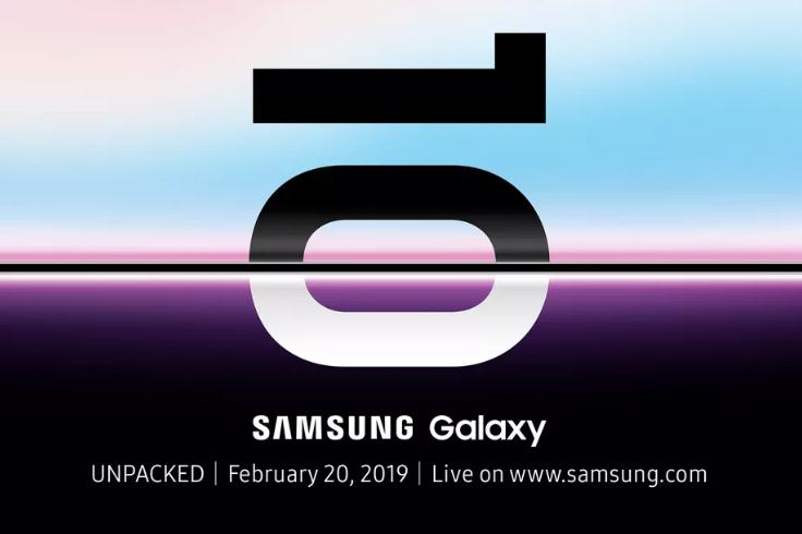 Le Samsung Galaxy S10 sera présenté le 20 février