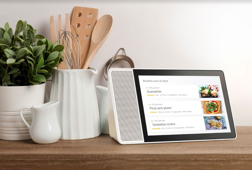 Lenovo Smart Display : les écrans avec Google Assistant arrivent en France