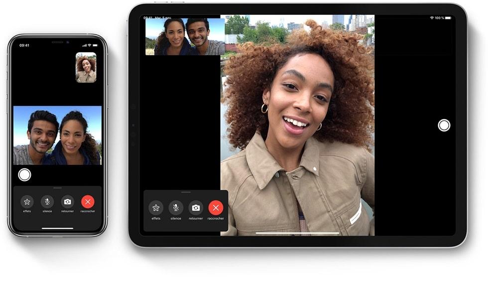 Les anciens modèles d'iPhone proposent FaceTime HD en Full HD 1080p