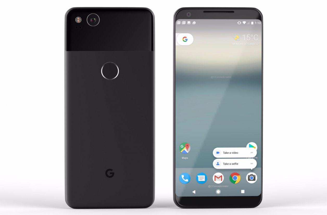 Les caractéristiques techniques des Pixel 2 et Pixel 2 XL de Google révélées ?
