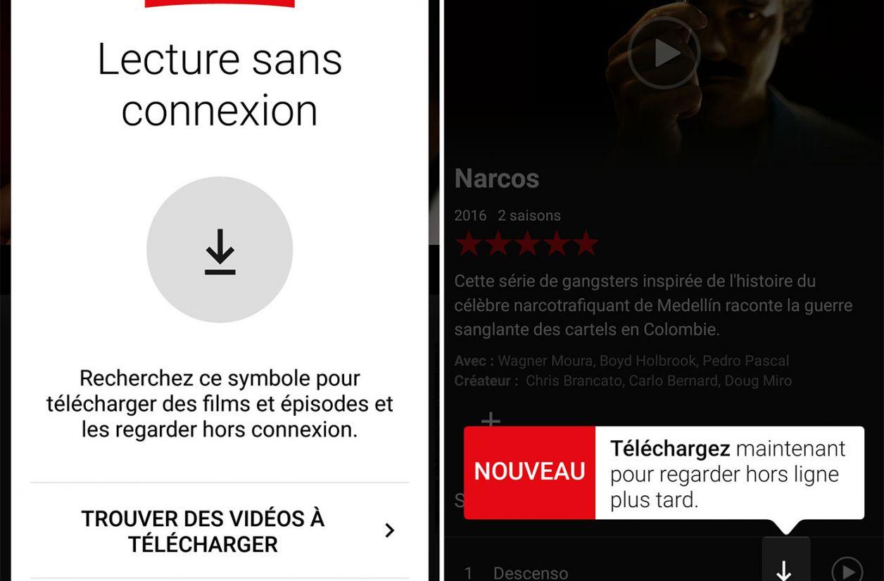 Les vidéos hors connexion arrivent enfin sur Netflix