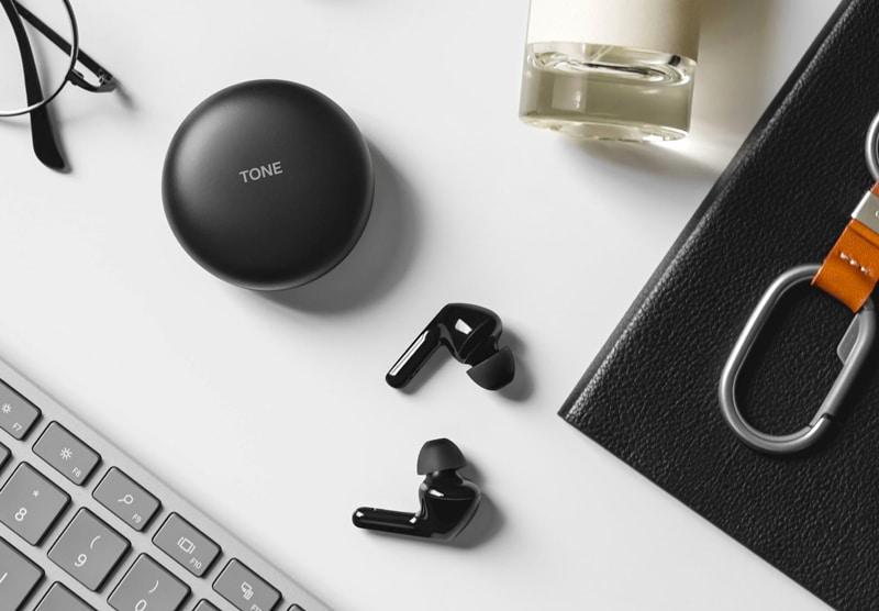 LG Tone Free HBS-FN6 et HBS-FN4 : des écouteurs true wireless avec étui anti-bactérien