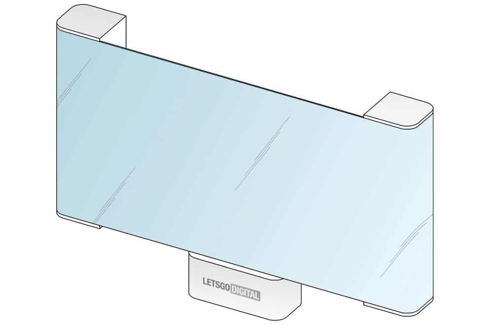 LG travaille sur un téléviseur enroulable horizontalement