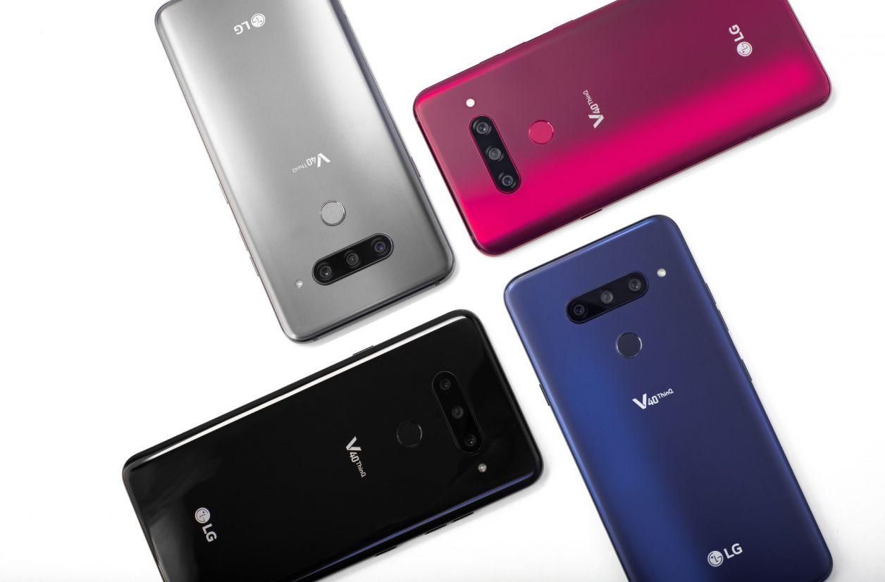LG V40 ThinQ : le smartphone à cinq caméras est officiel