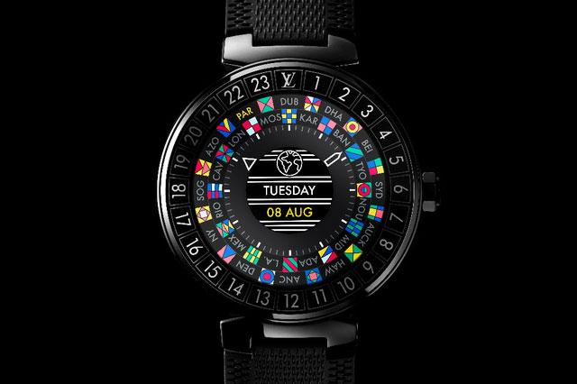 Louis Vuitton se met aux montres connectées avec la Tambour Horizon