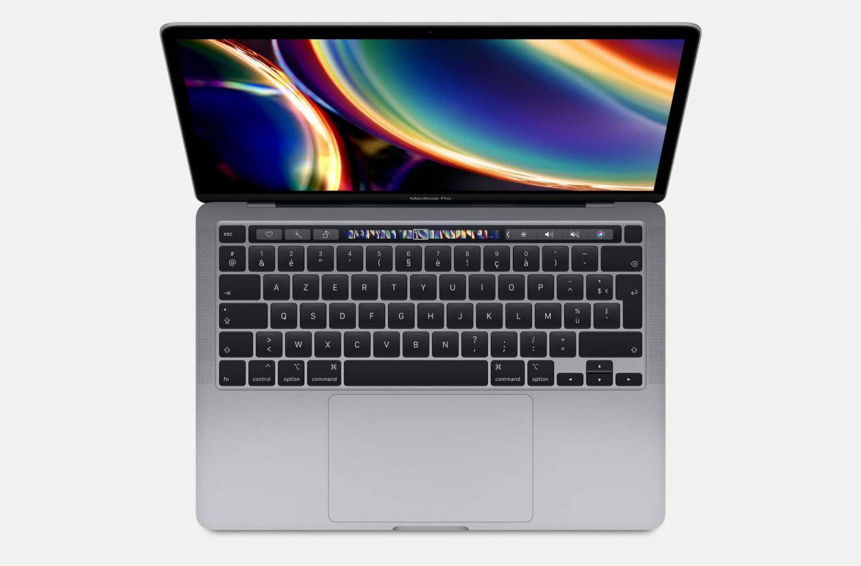 MacBook Pro : le modèle 13 pouces se pare de Core 10e génération et du Magic KeyBoard