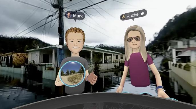 Mark Zuckerberg visite Porto Rico en VR, et c'est un peu gênant